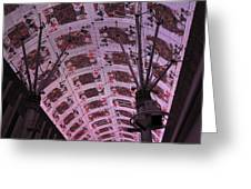 Las Vegas - Fremont Street Experience - 121210 Greeting Card by DC Photographer