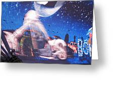 Las Vegas - Fremont Street Experience - 121217 Greeting Card by DC Photographer