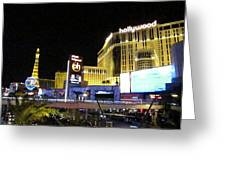Las Vegas - Planet Hollywood Casino - 12124 Greeting Card by DC Photographer