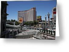 Las Vegas - Treasure Island - 12122 Greeting Card by DC Photographer