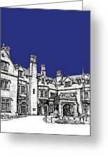 Laurel Hall In Royal Blue Greeting Card by Lee-Ann Adendorff
