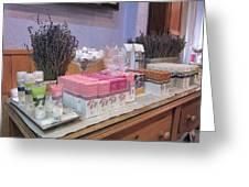 Lavender Museum Shop 2 Greeting Card by Pema Hou