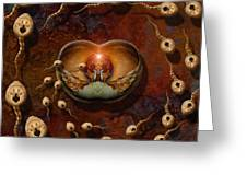 Laws Of Attraction 2 Greeting Card by WB Johnston