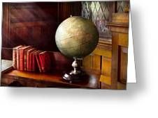 Lawyer - A World Traveler Greeting Card by Mike Savad