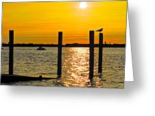 Lazy Summer Day Greeting Card by Frozen in Time Fine Art Photography