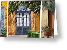 Le 5 Porte Greeting Card by Guido Borelli