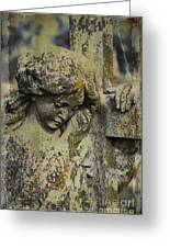 Lean On Me Greeting Card by Terry Rowe