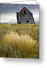 Leaning A Little Greeting Card by Bob Christopher