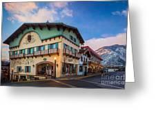 Leavenworth Alps Greeting Card by Inge Johnsson