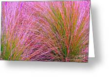 Leaves Of Grass Greeting Card by Ann Johndro-Collins