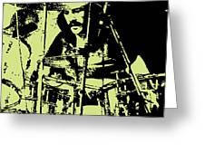 Led Zeppelin No.05 Greeting Card by Caio Caldas