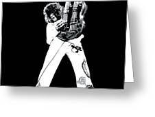 Led Zeppelin No.06 Greeting Card by Caio Caldas