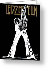 Led Zeppelin No.06 Greeting Card by Caio Caldas
