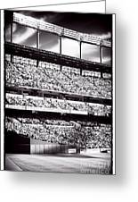 Left Field Greeting Card by John Rizzuto