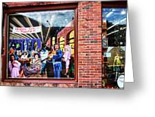 Legends Bar In Downtown Nashville Greeting Card by Dan Sproul