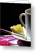 Lemon Please Greeting Card by Angela Davies