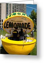 Lemonade Stand Toronto Canada Greeting Card by Robert Ford