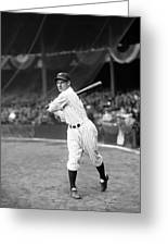Leo Durocher Swinging Greeting Card by Retro Images Archive