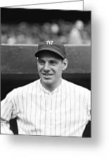 Leo Durocher With The Yankees Greeting Card by Retro Images Archive