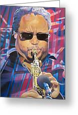 Leroi Moore And 2007 Lights Greeting Card by Joshua Morton