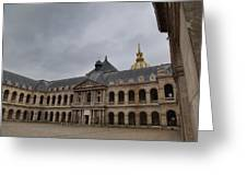 Les Invalides - Paris France - 01139 Greeting Card by DC Photographer