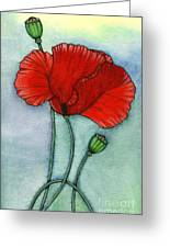 Lest We Forget Greeting Card by Nora Blansett