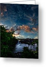 Lewiston In July Greeting Card by Bob Orsillo