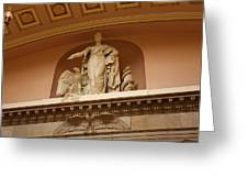 Library Of Congress - Washington Dc - 01132 Greeting Card by DC Photographer