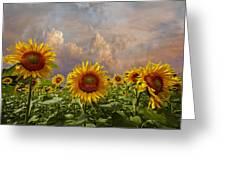 Life Is Good Greeting Card by Debra and Dave Vanderlaan