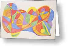 Graffiti Life  Greeting Card by Stormm Bradshaw