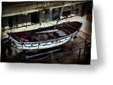 Lifeboat Greeting Card by Evie Carrier