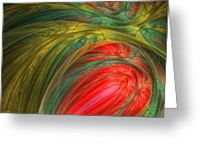 Life's Colors Greeting Card by Lourry Legarde