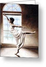 Light Elegance Greeting Card by Richard Young