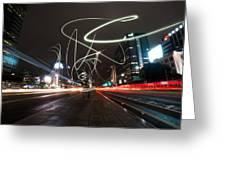 Light In Seoul Greeting Card by Yoo Seok Lee