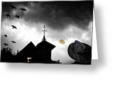 Light In The Window Greeting Card by Bob Orsillo