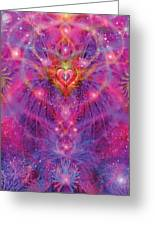 Light Of Passion Reborn Greeting Card by Alixandra Mullins