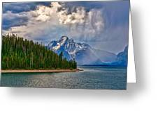 Light On Moran Greeting Card by Greg Norrell