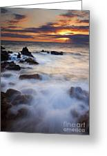 Light Over Lanai Greeting Card by Mike  Dawson