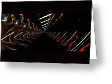 Light Passage Greeting Card by Mike Breau