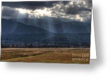 Light Shower Greeting Card by Douglas Stucky
