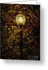 Light Unto Darkness - Greensboro North Carolina Greeting Card by Dan Carmichael