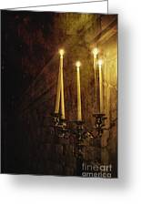 Lighting The Way Greeting Card by Margie Hurwich