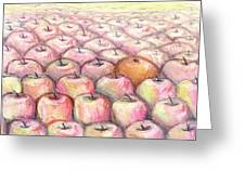 Like Apples and Oranges Greeting Card by Shana Rowe