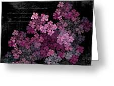 Lilacs Greeting Card by Sylvia Thornton