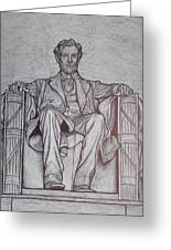 Lincoln Memorial Greeting Card by Christy Saunders Church