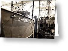 Lindsay L Greeting Card by John Rizzuto