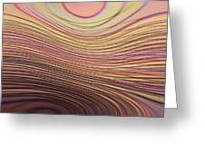 Lines And Circles -p08a Greeting Card by Variance Collections
