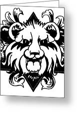 Lion Of Judah Greeting Card by Marvin Barham