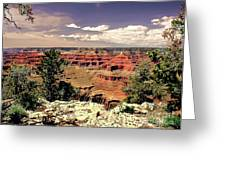 Lipan Point  Grand Canyon Greeting Card by Bob and Nadine Johnston