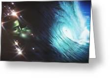 'Liquid Lust' Greeting Card by Christian Chapman Art